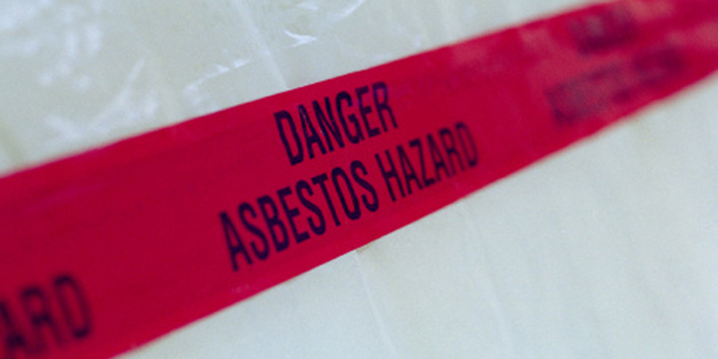 Danger Tape Asbestos Hazard