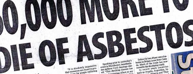 Die of Asbestos