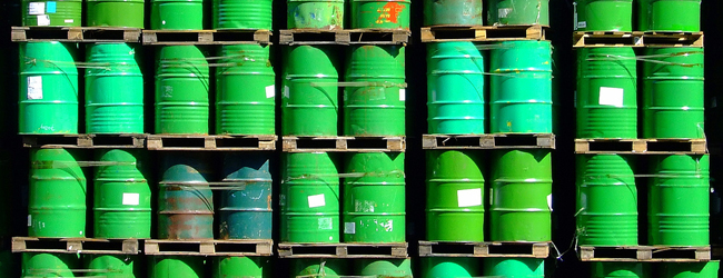 Hazardous Materials drums