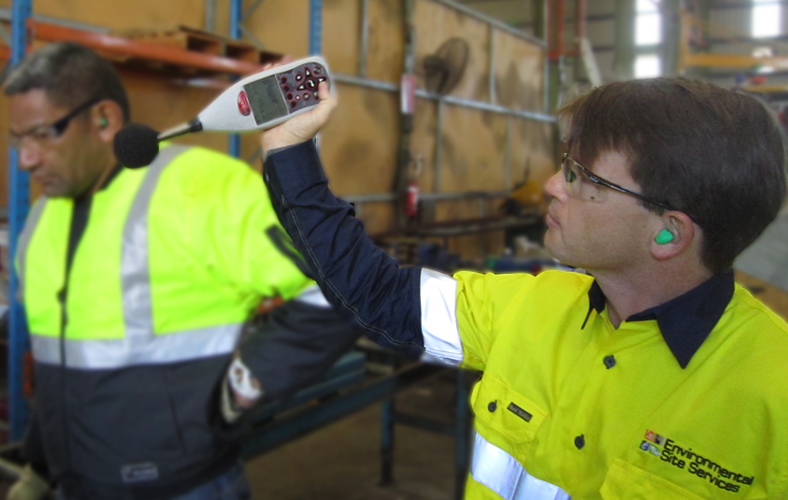 Workshop Noise Audit Perth Western Australia Environmental Site Services