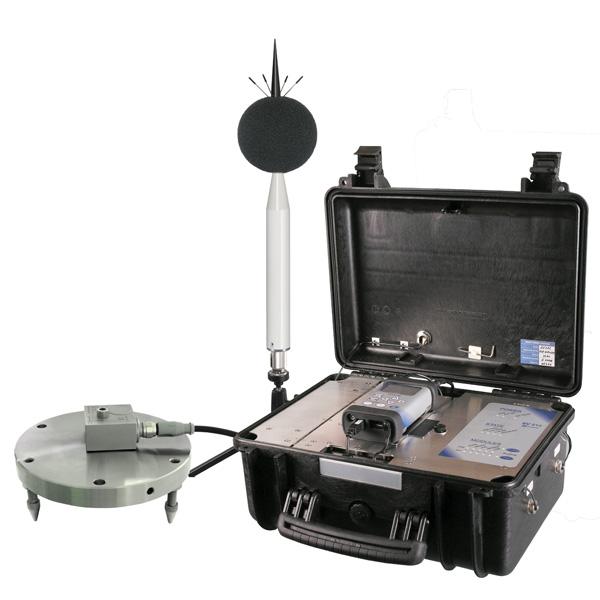 Vibration Monitoring Equipment Environmental Site Services